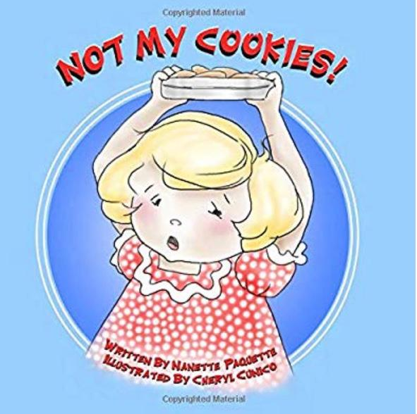 b2a5f5df26 This is my children s book called NOT MY COOKIES! It s a true story about  my Grandmother s first memory when she was 3 years old.